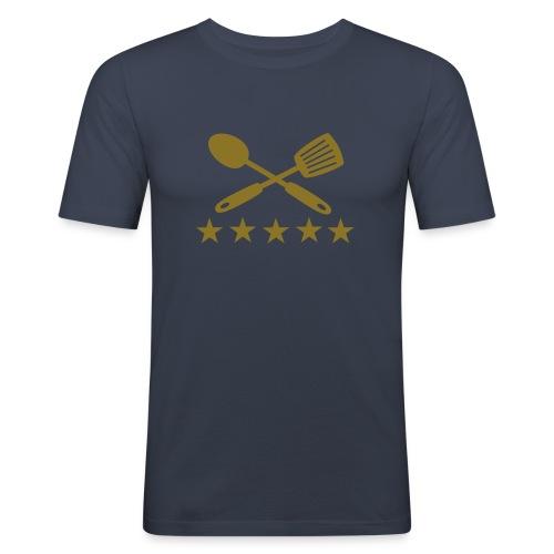 5 Star Waffle Maker - Men's Slim Fit T-Shirt
