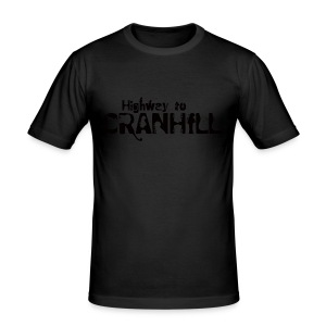 Highway to Cranhill - Men's Slim Fit T-Shirt