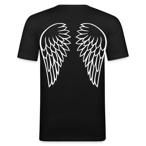 T-shirt Angel - Maglietta aderente da uomo