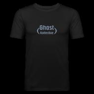 T-Shirts ~ Men's Slim Fit T-Shirt ~ Stop - Express the same things (lyrics on back)