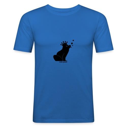 Walter Frosch (Slim Fit) - Männer Slim Fit T-Shirt