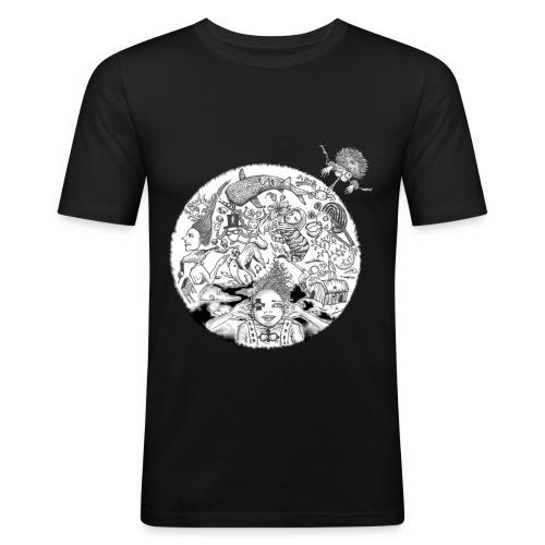 HGL-Slim Fit T - Men's Slim Fit T-Shirt