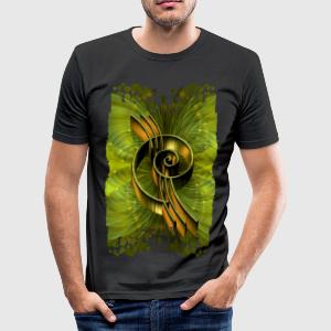ENERGY OF NATURE | Männershirt slim fit - Männer Slim Fit T-Shirt