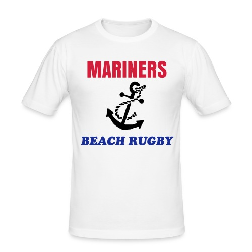 Mariners Beach Rugby Club - T-shirt près du corps Homme