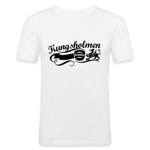 Kungs Script Tee - Slim Fit T-shirt herr