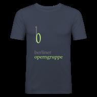 T-Shirts ~ Männer Slim Fit T-Shirt ~ Herren Slim-Fit T-Shirt Berliner Operngruppe