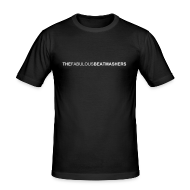 T-Shirts ~ Männer Slim Fit T-Shirt ~ Beatmashers Slim Shirt - black