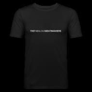T-Shirts ~ Männer Slim Fit T-Shirt ~ Beatmashers Slim Shirt - black