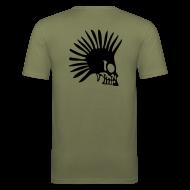 Tee shirts ~ Tee shirt près du corps Homme ~ T-shirt homme SKULL PUNK