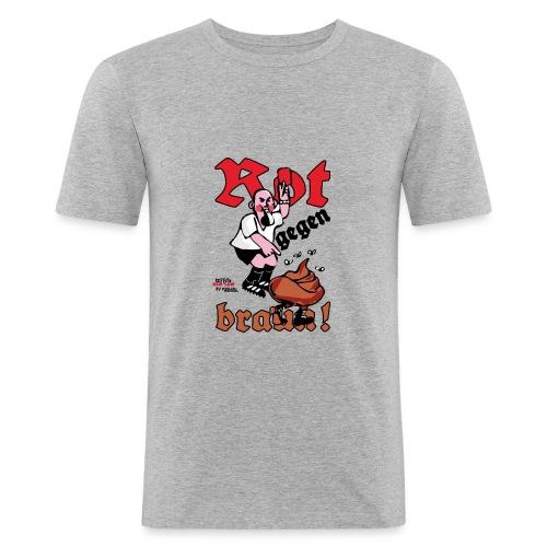 Rote Karte! - Männer Slim Fit T-Shirt