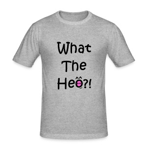 What the con heo? - Men's Slim Fit T-Shirt