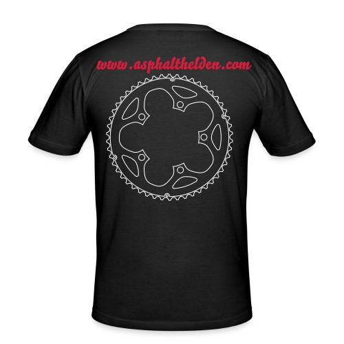 cycling...kettenblatt - Männer Slim Fit T-Shirt