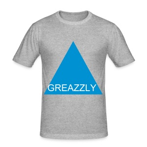 GREAZZLY SHIRT SLIM FIT GRY - Männer Slim Fit T-Shirt