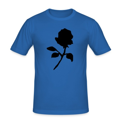 The Black Rose - Men's Slim Fit T-Shirt