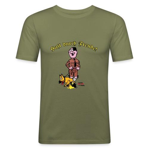 Saft durch Freude 2.0 - Männer Slim Fit T-Shirt