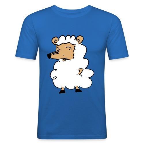 Wolf im Schafpelz - Männer Slim Fit T-Shirt