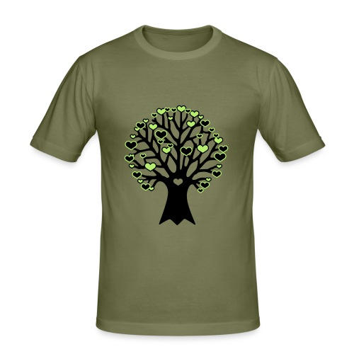 love tree - T-shirt près du corps Homme