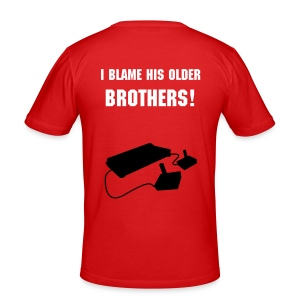 Who to blame - slim fit T-shirt