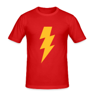 T-shirts ~ slim fit T-shirt ~ Shazam (Sheldon)