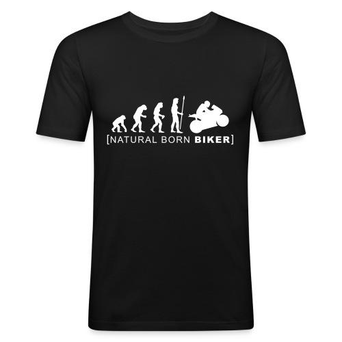 evolution - T-shirt près du corps Homme