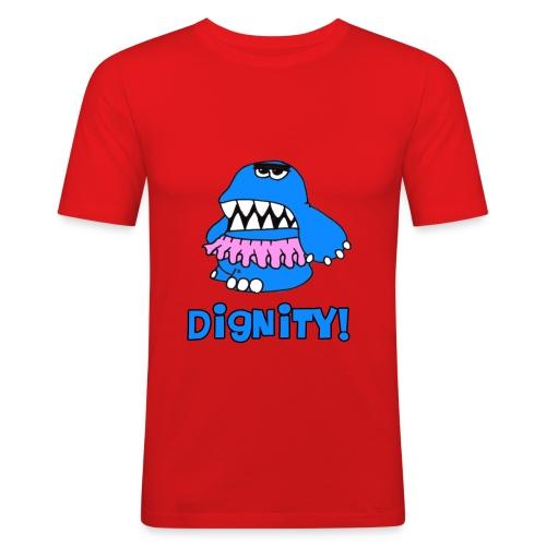 Dignity! Slim - Männer Slim Fit T-Shirt