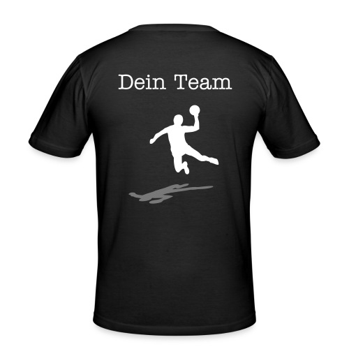 Teamshirt Handball - Männer Slim Fit T-Shirt