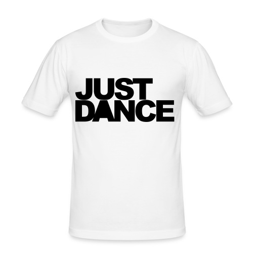 JUST DANCE DJ FÄBS - Männer Slim Fit T-Shirt