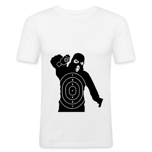 T Shirt Cible  - T-shirt près du corps Homme