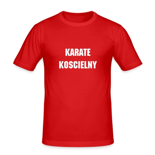 Karate Koscielny - Men's Slim Fit T-Shirt