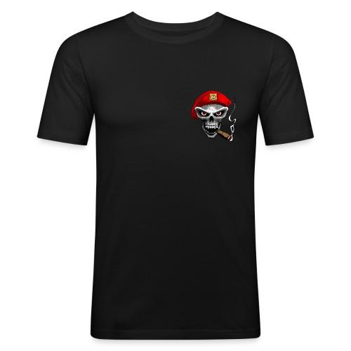 skull army - T-shirt près du corps Homme