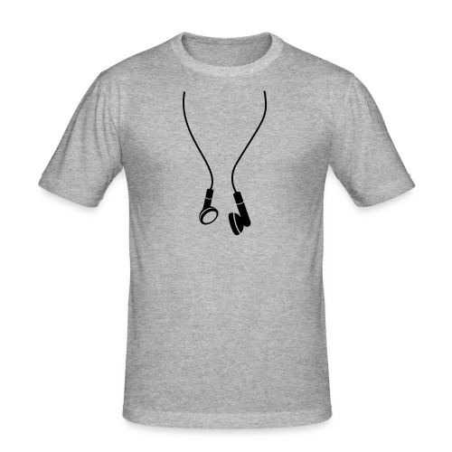 T-Shirt Cuffie - Maglietta aderente da uomo