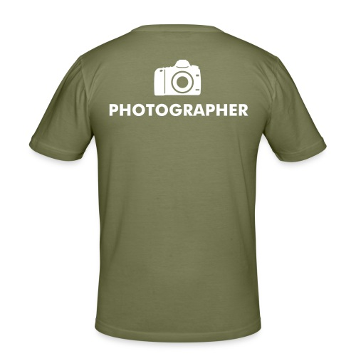 Mannen Slim-fit 'photographer' - slim fit T-shirt