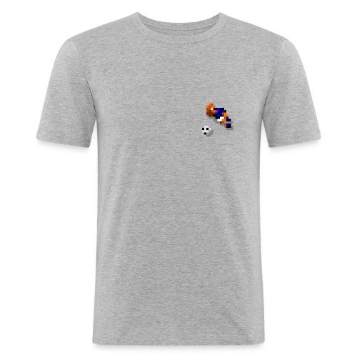 Notbremse (any colour) - Men's Slim Fit T-Shirt