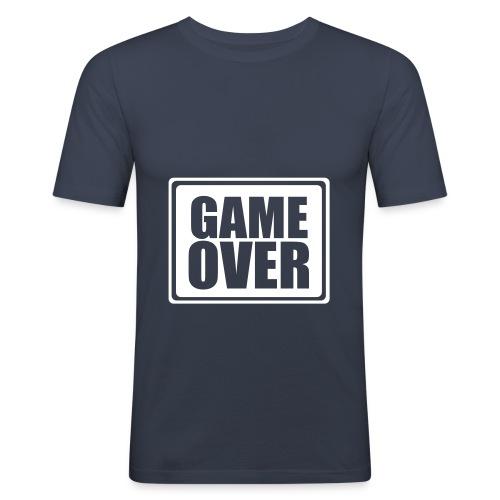 Game over - Camiseta ajustada hombre