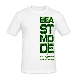 Beastmode Side - Men's Slim Fit T-Shirt