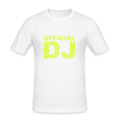Official DJ - Slim Fit T-shirt herr