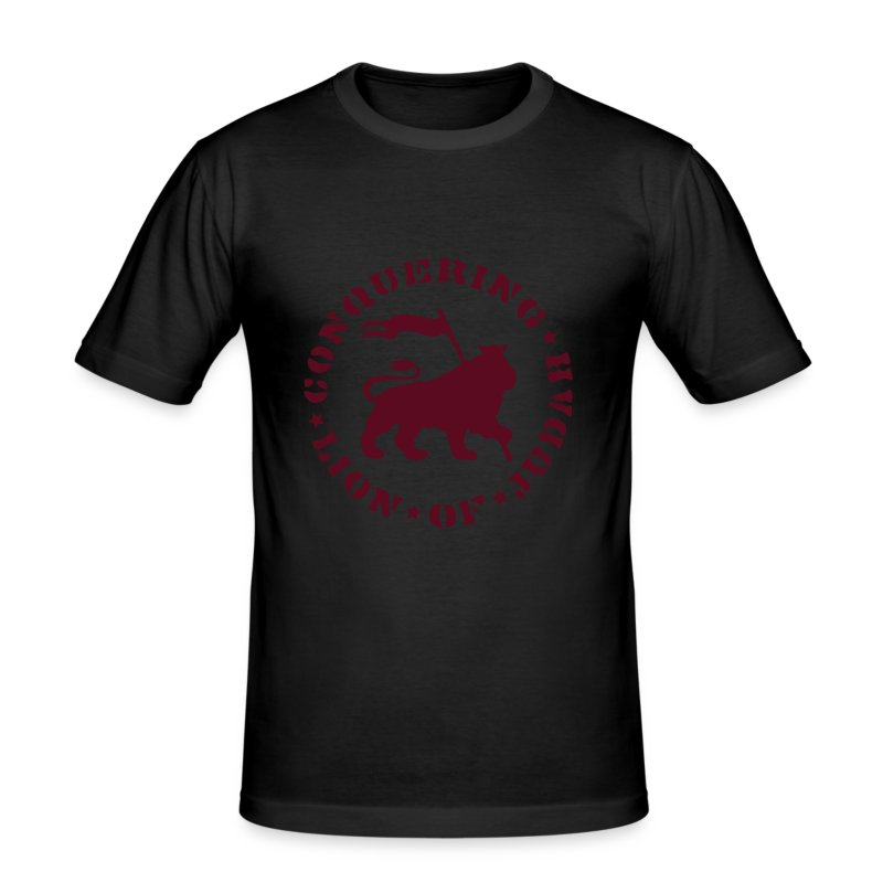 Lion of Judah - Männer Slim Fit T-Shirt