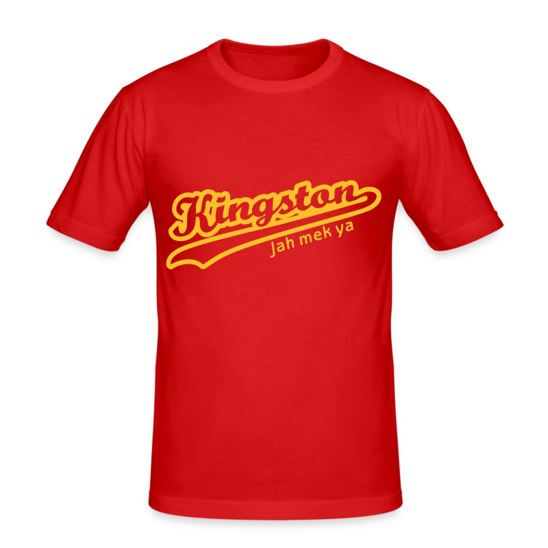 Kingston - Männer Slim Fit T-Shirt