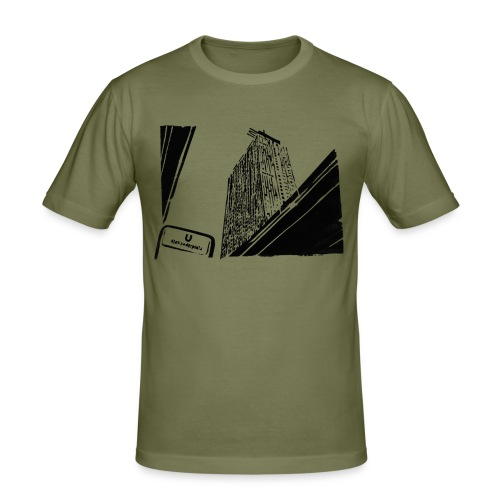Alex2 - Männer Slim Fit T-Shirt