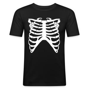 Luuranko - Miesten tyköistuva t-paita