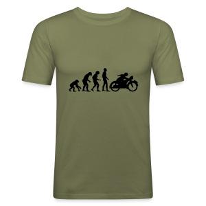 Moto Revolution - Männer Slim Fit T-Shirt