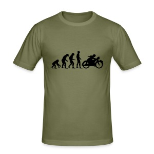 Moto Revolution - Männer Slim Fit T-Shirt