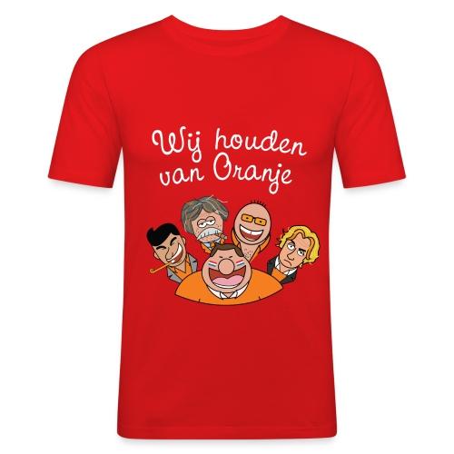 Wij houden van Oranje - slim fit T-shirt