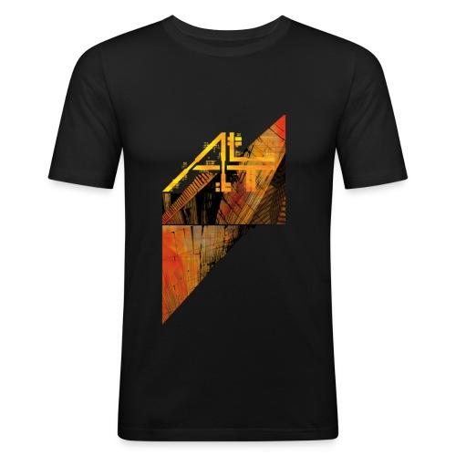 # I - T Shirt Juste Corps Homme - T-shirt près du corps Homme
