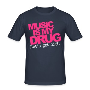 Music tee Guys - Men's Slim Fit T-Shirt
