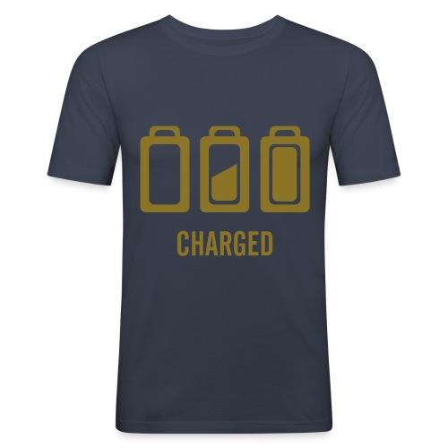 En charge  - T-shirt près du corps Homme