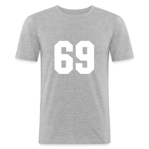 T.skjorte med 69 motiv - Slim Fit T-skjorte for menn