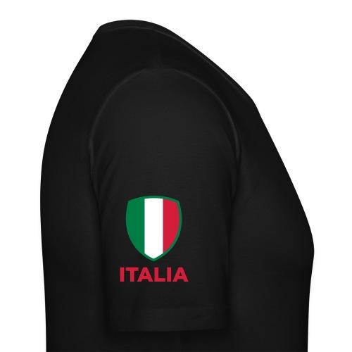 T-Shirt ITALIA CALCIO Noir/Or - T-shirt près du corps Homme