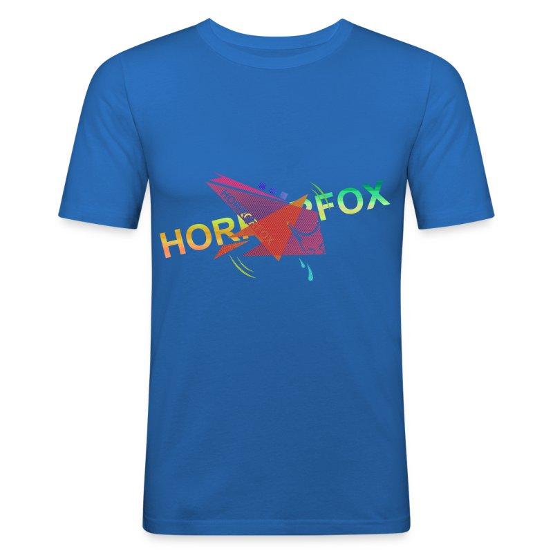 HorrorFox Complex Slim-Fit Men's Tee - Men's Slim Fit T-Shirt