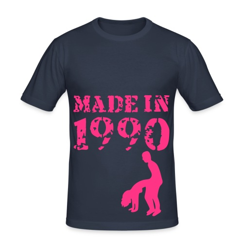 Made in 1990 - Slim Fit T-shirt herr